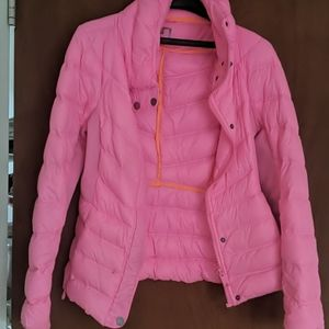FREE with any bundleJc Penney hot pink puffer coat